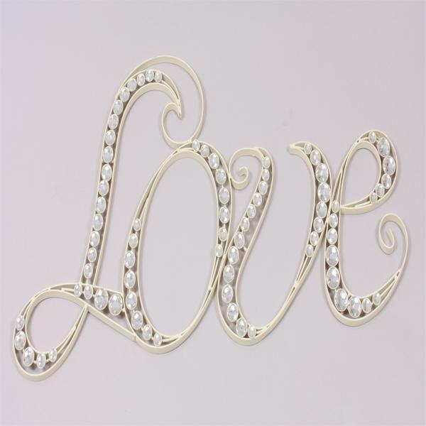 Love Cream Metal Wall Art | Harry Corry Limited Pertaining To Cream Metal Wall Art (Image 11 of 20)