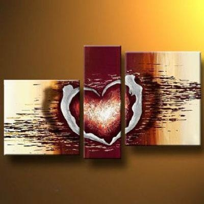 Love Dance Modern Canvas Art Wall Decor Abstract Oil Painting Wall Within Oil Painting Wall Art On Canvas (View 8 of 20)