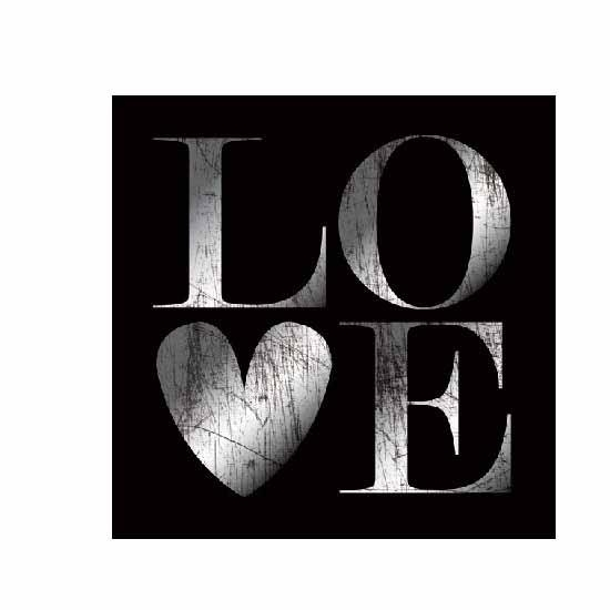 Love Wall Art In Black And White 8096 Furniture In Fashion For Love Wall Art (Image 15 of 20)