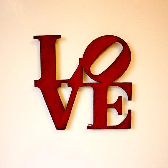 Love Wall Art Metal Sign 8 X 8 Love Metal Wall Within Love Wall Art (Image 16 of 20)