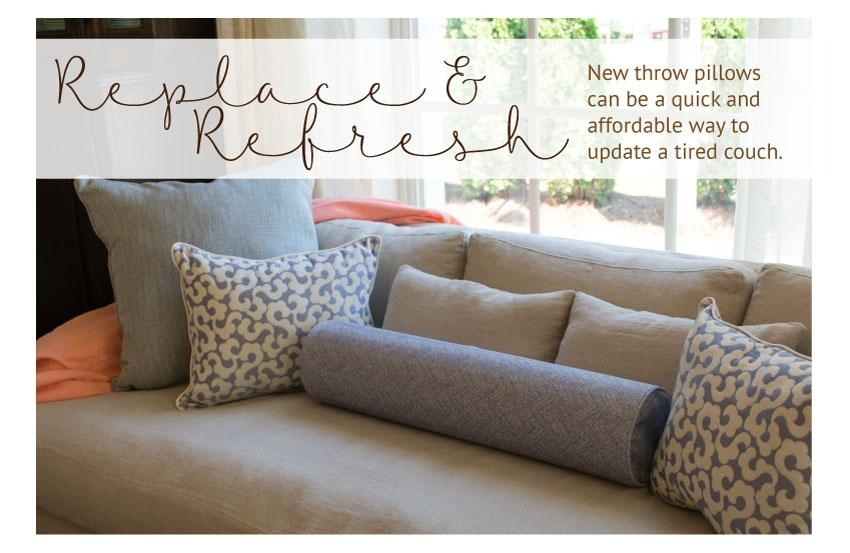 Love Your Couch, Hate Your Cushions? Here's What You Need To Know With Reupholster Sofas Cushions (View 12 of 20)