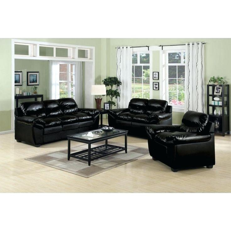 Loveseat ~ Black Sofa And Loveseat Slipcover Sets Black Leather Throughout Black Leather Sofas And Loveseat Sets (Image 11 of 20)