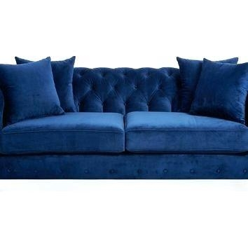 Loveseat ~ Blue Microfiber Sofa And Loveseat Blue Sofa And Within Blue Microfiber Sofas (Image 11 of 20)