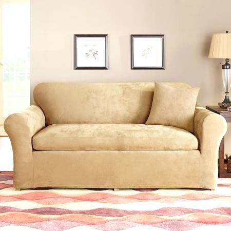 Loveseat ~ Sure Fit Sofa And Loveseat Covers Slipcovers For For Sofa And Loveseat Covers (Image 8 of 20)