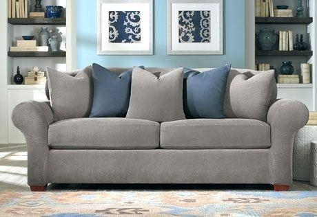 Loveseat ~ Sure Fit Sofa Loveseat Slipcovers View Details A Throughout Sofa And Loveseat Covers (Image 9 of 20)