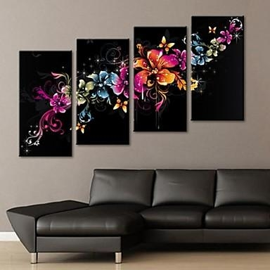 Luckydonkey | Rakuten Global Market: Contemporary Art In Modern For 4 Piece Canvas Art Sets (Image 14 of 20)