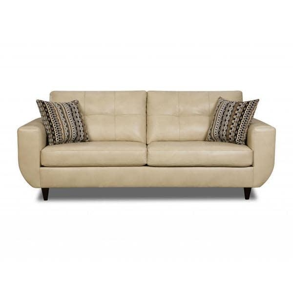 Made To Order Simmons Upholstery Jamestown Champagne Sofa – Free Intended For Simmons Leather Sofas (Image 9 of 20)