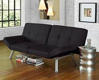 Mainstays Contempo Futon Review With Mainstay Sofas (Image 9 of 20)