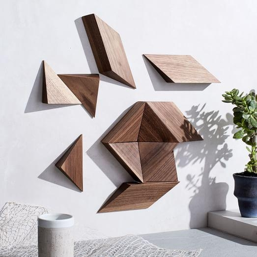 Mākgoods Modular Wall Art – 12 Piece | West Elm Within Modular Wall Art (Image 12 of 20)