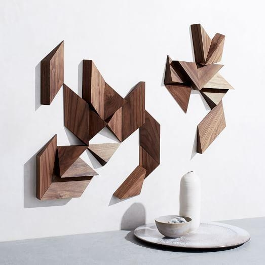 Mākgoods Modular Wall Art – 24 Piece | West Elm With Regard To Modular Wall Art (Image 13 of 20)