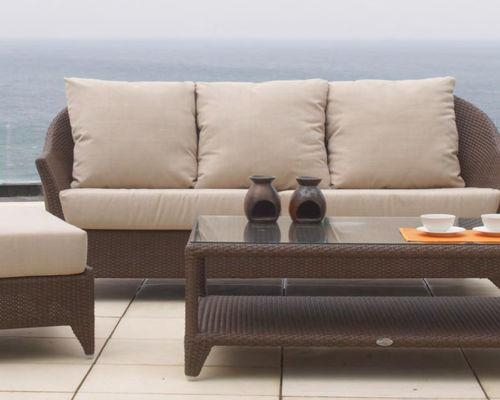 Malta Wicker Outdoor Seating Collection From Skyline Design With Skyline Sofas (Photo 9 of 20)