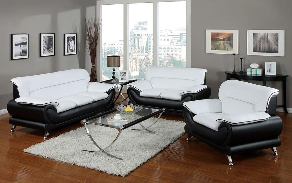 Featured Image of Black And White Leather Sofas