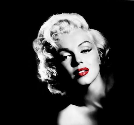 Featured Image of Marilyn Monroe Black And White Wall Art