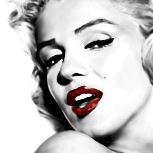 Marilyn Monroe Canvas Art Printlja Canvas Art In Marilyn Monroe Black And White Wall Art (Image 15 of 20)