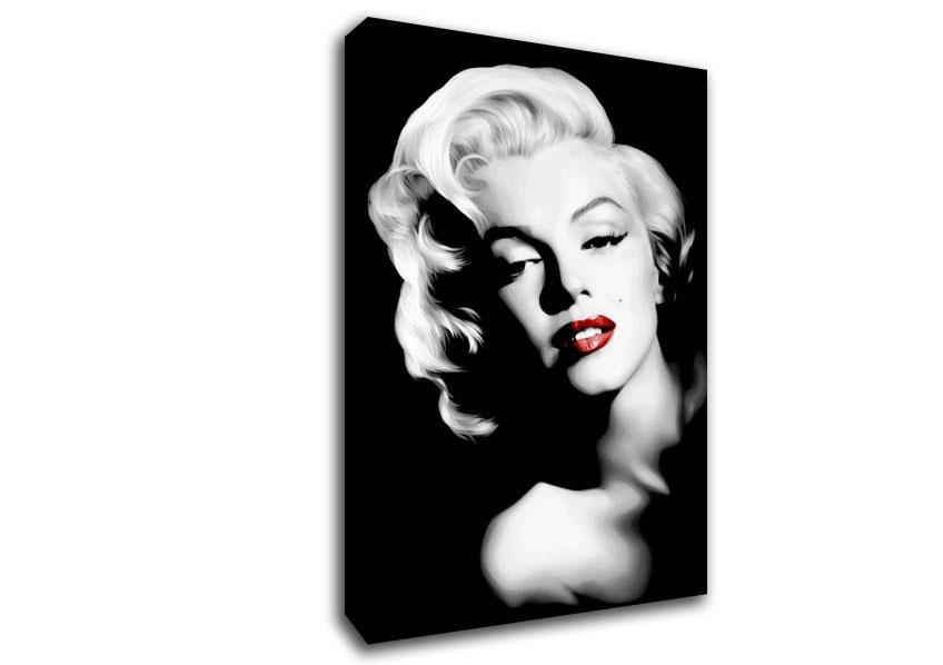 Marilyn Monroe Canvas Wall Art Lovely Canvas Wall Art On Regarding Marilyn Monroe Black And White Wall Art (Image 16 of 20)