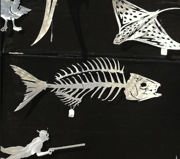 Marine Art: Metal Fish Sculptureadam Welsch At Fishbone Throughout Fish Bone Wall Art (Image 17 of 20)