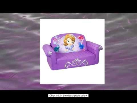 Marshmallow Children S Furniture – 2 In 1 Flip Open Sofa – Disney With Princess Flip Open Sofas (View 11 of 20)