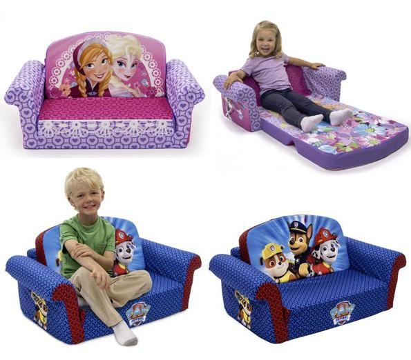 Marshmallow Flip Open Sofas For Only $40 @ Walmart! (Frozen, Paw For Flip Open Couches (Image 8 of 20)