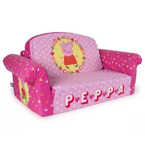 Marshmallow Furniture Children's 2 In 1 Flip Open Foam Sofa Inside Flip Open Kids Sofas (Image 14 of 20)