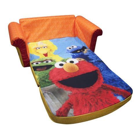 Marshmallow Furniture Children's 2 In 1 Flip Open Foam Sofa Sesame Inside Flip Open Kids Sofas (Image 15 of 20)