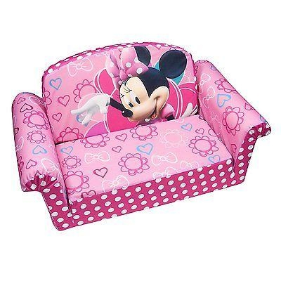Marshmallow Furniture Minnies Bow Tique Flip Open Sofa • $ (Image 9 of 20)