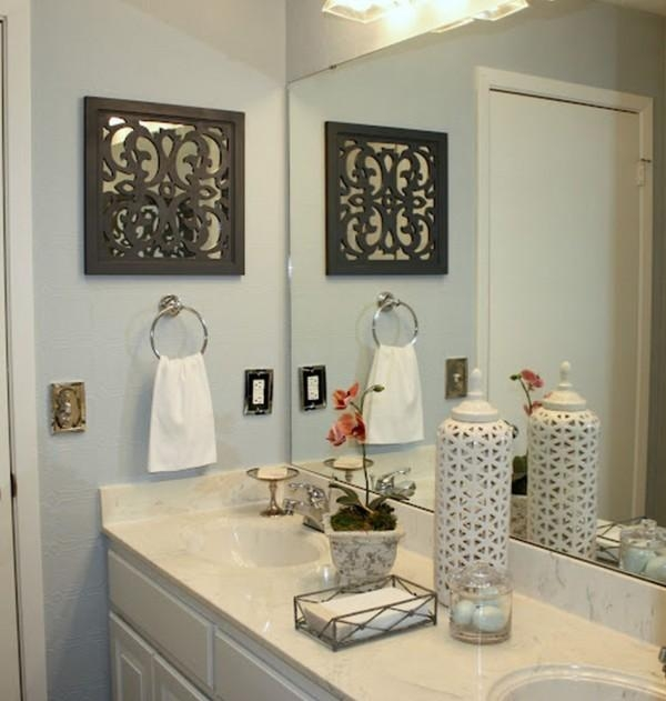 Marvelous Metal Wall Art For The Bathroom For Cast Iron With Regard To Metal Wall Art For Bathroom (Image 17 of 20)