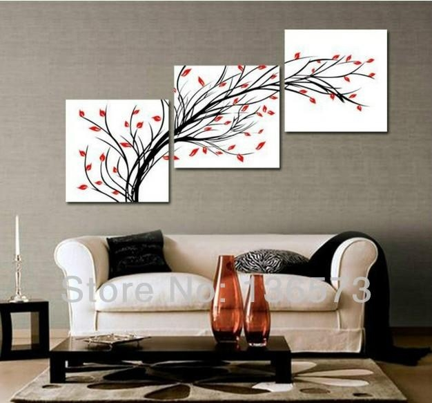 Marvelous Wall Paintings For Living Room Design – Wall Canvases Pertaining To Wall Art Sets For Living Room (View 13 of 20)
