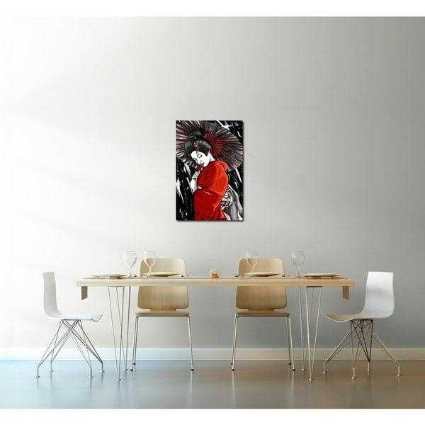 Maxwell Dickson 'geisha' Canvas Wall Art – Free Shipping Today Pertaining To Geisha Canvas Wall Art (Image 13 of 20)