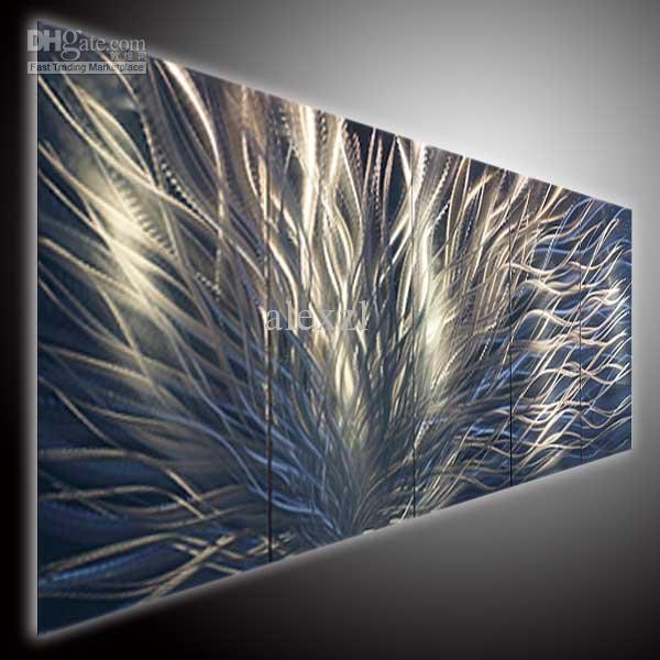 Metal Art Modern Art Abstrtact Art Wall Oil Painting On Canvas On Throughout Cheap Modern Wall Art (Image 11 of 20)
