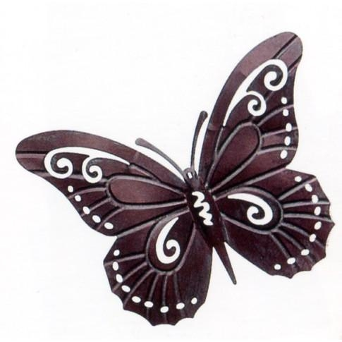 Metal Butterfly Wall Art Great Large Wall Art On Outdoor Metal In Large Metal Butterfly Wall Art (View 13 of 20)