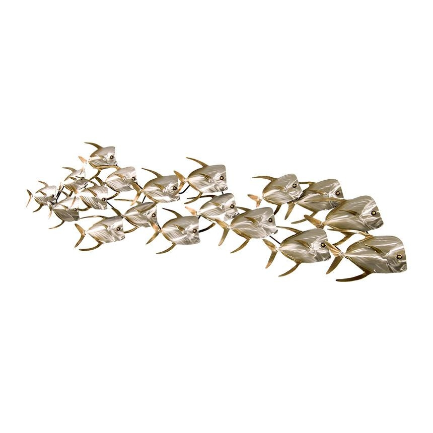 Metal Fish Wall Art.  (Image 9 of 20)