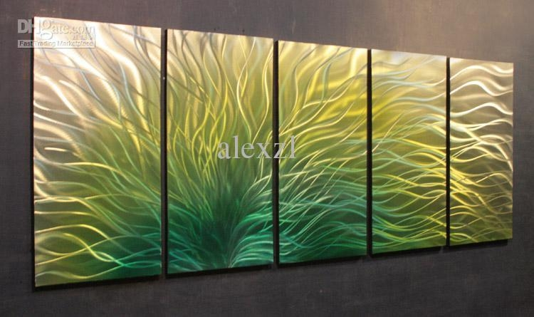 Featured Image of Yellow And Green Wall Art