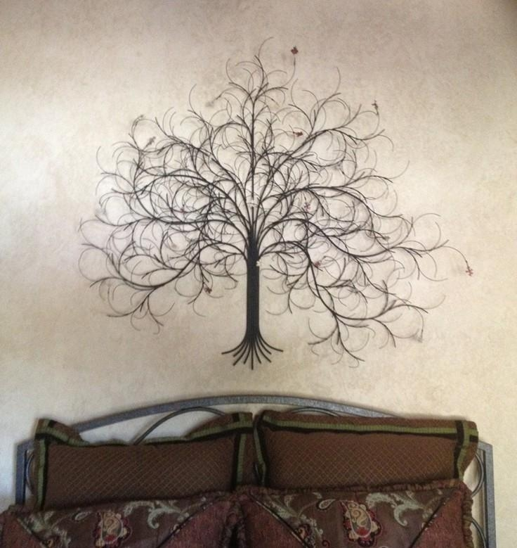 Metal Tree Wall Art Pictures Of Metal Tree Wall Decor – Home Decor Intended For Metal Tree Wall Art Sculpture (Image 12 of 20)