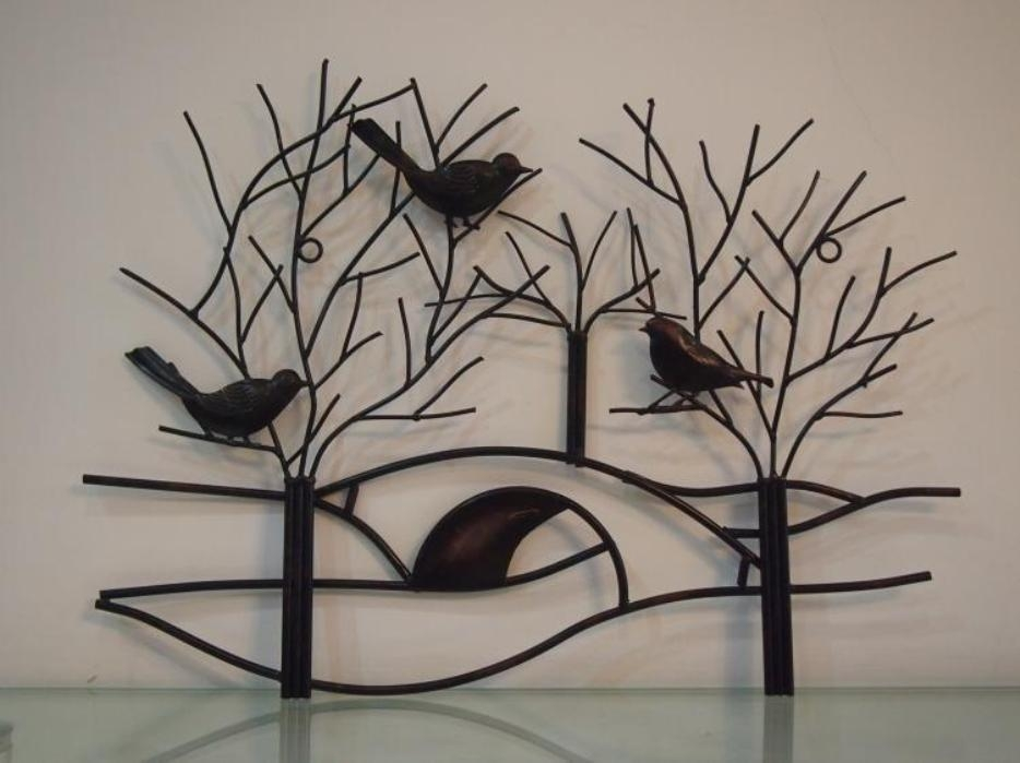 Metal Tree Wall Art Sculpture | Fabulous Home Ideas Pertaining To Tree Wall Art Sculpture (View 20 of 20)