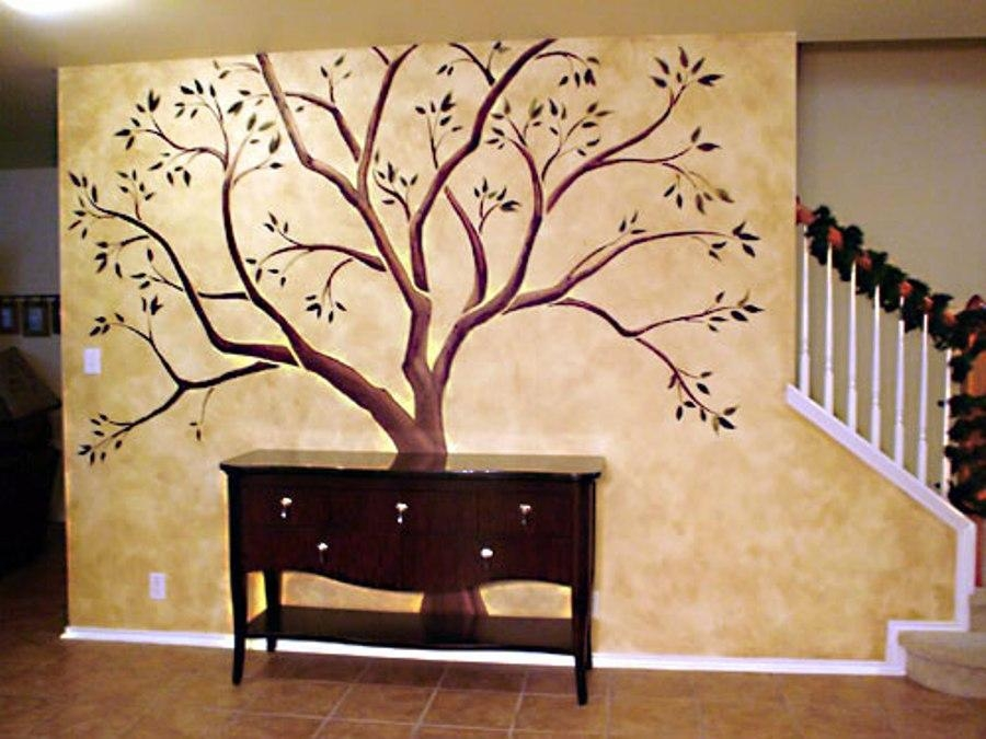 Metal Tree Wall Art Sculpture Wall Decoration Ideas Inside Tree Intended For Tree Sculpture Wall Art (Image 14 of 20)
