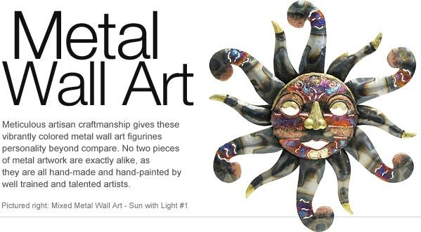 Metal Wall Art – Animal, People, And Nature Metal Wall Art Intended For Mexican Metal Wall Art (Image 14 of 20)