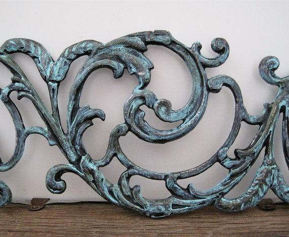 Metal Wall Art Filigree Gate Architectural Salvage Garden Home With Regard To Filigree Wall Art (Image 15 of 20)