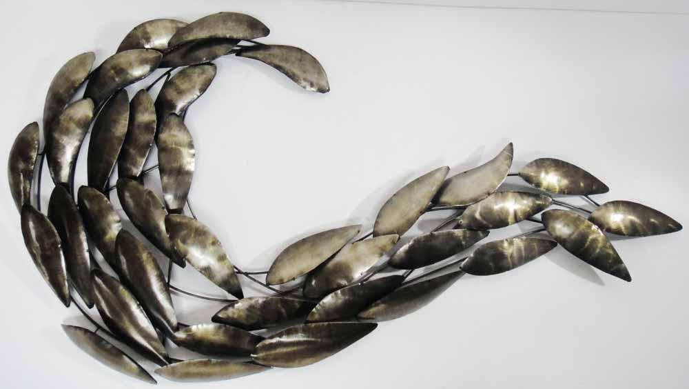 Metal Wall Art Fish – Wall Art Design Inside Shoal Of Fish Metal Wall Art (Image 12 of 20)