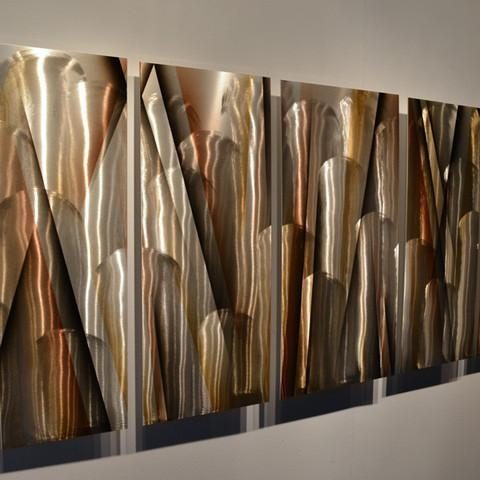 Metal Wall Art For Modern Home » Inoutinterior Within Large Metal Art (View 15 of 20)
