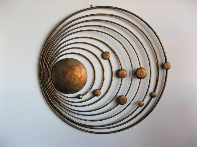 Metal Wall Art For Modern Home » Inoutinterior Within Metallic Wall Art (View 12 of 20)