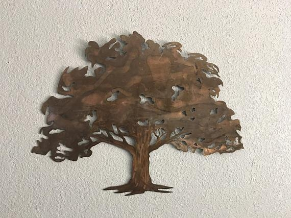 Metal Wall Art – Garrett's Metal Art For Metal Oak Tree Wall Art (View 14 of 20)
