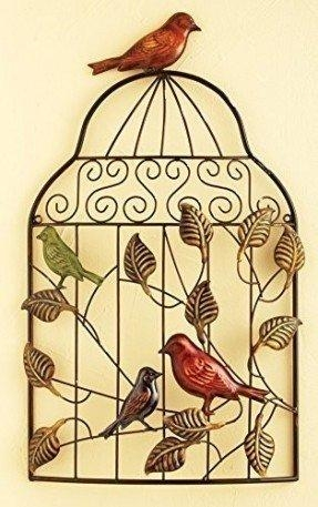 Metal Wall Art Leaves – Foter Pertaining To Metal Birdcage Wall Art (View 8 of 20)