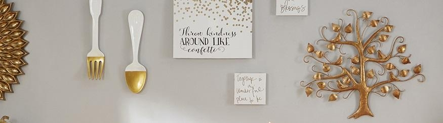 Metal Wall Art – Metal Wall Decor And Artork Collection | At Home Throughout Metallic Wall Art (View 11 of 20)