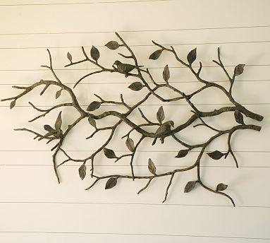 Metal Wall Art | Save Or Splurge? With Regard To Metal Wall Art Trees And Branches (Image 15 of 20)