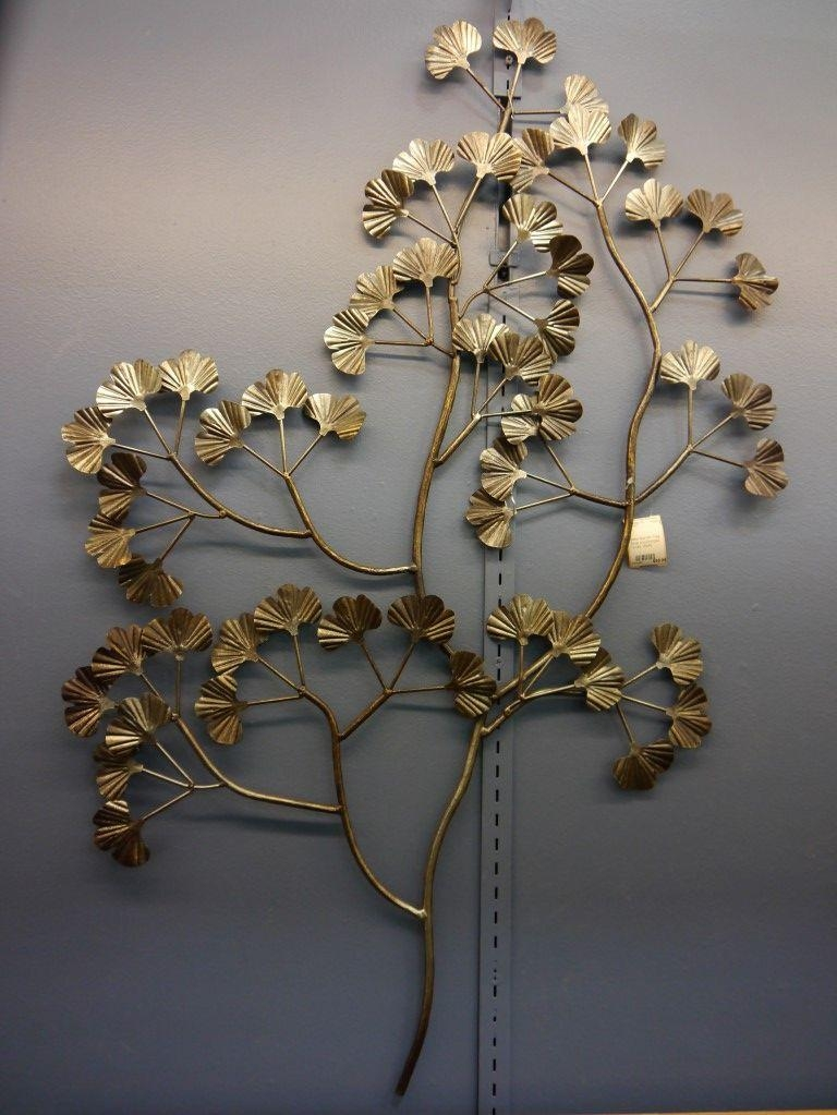 Metal Wall Art Tree Silver & Bronze Tones | Lincoln Park Emporium Throughout Bronze Tree Wall Art (View 2 of 20)