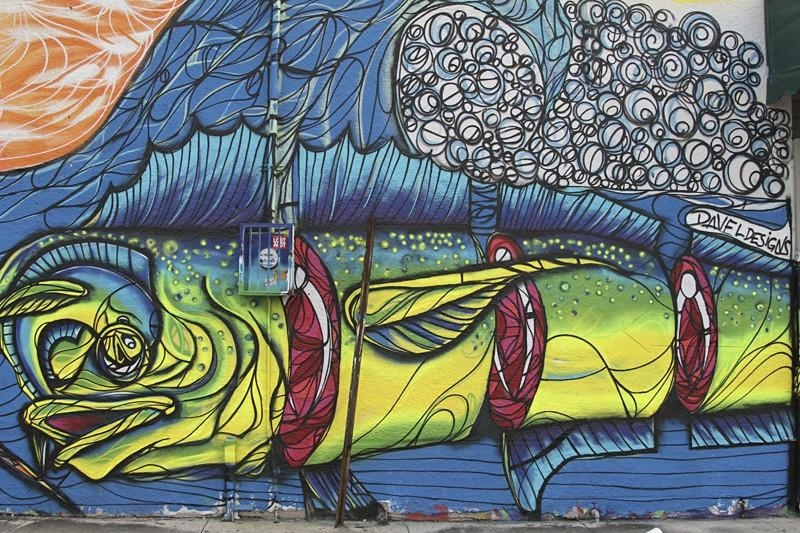 Miami Street Art: Top 10 New Wynwood Murals | Miami New Times Within Miami Wall Art (Image 4 of 20)