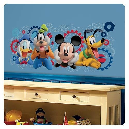 Mickey Mouse Clubhouse Capers Giant Wall Decal – Roommates In Mickey Mouse Clubhouse Wall Art (View 12 of 20)