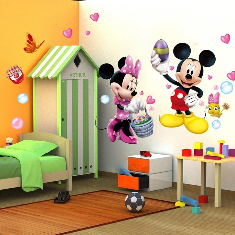 Mickey Mouse Clubhouse Wall Decals | Roselawnlutheran Regarding Mickey Mouse Clubhouse Wall Art (Image 15 of 20)