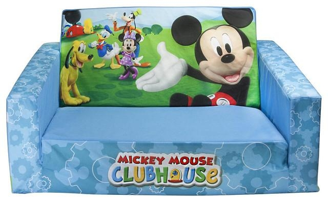 Mickey Mouse Flip Out Sofa Australia | Memsaheb Regarding Mickey Mouse Clubhouse Couches (Photo 4 of 20)