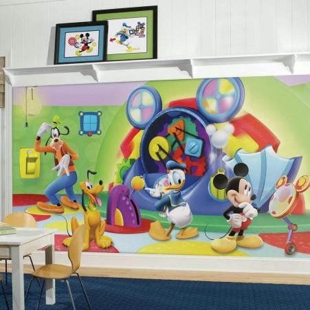 Mickey Mouse & Friends Wall Decals | Mickey Mouse & Friends Wall Pertaining To Mickey Mouse Clubhouse Wall Art (Image 12 of 20)